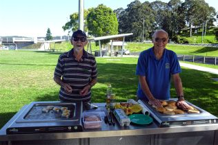 Alex and Bob and the best bacon rolls in town