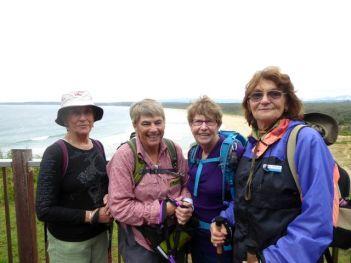 Denise, Bev, Lesley and Denise