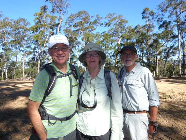 Mark, with Leaders Mary and Stan