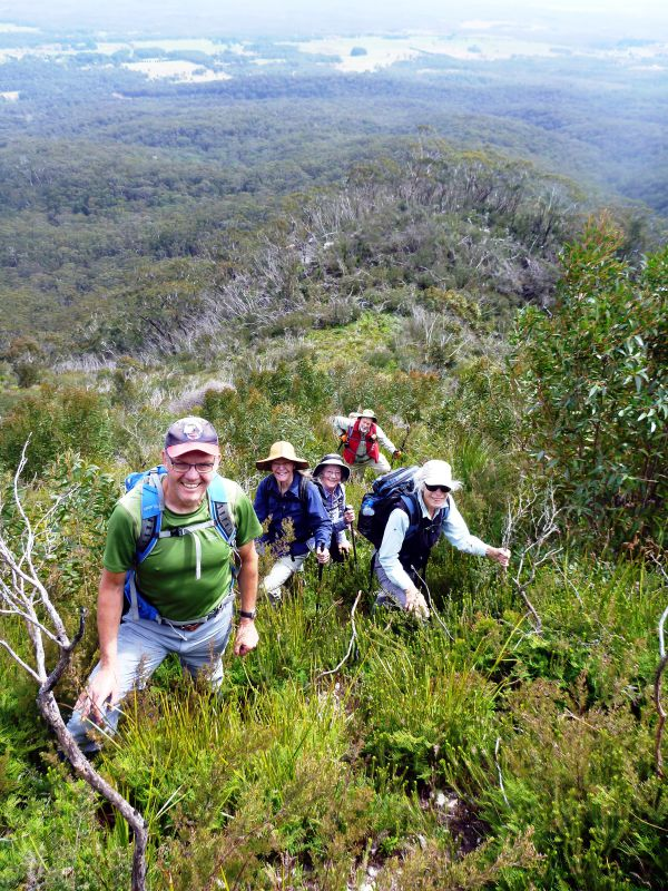 The western ascent of Mt Currockbilly