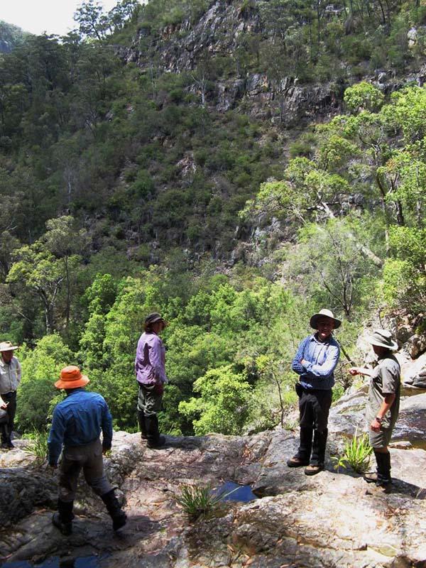 Brian, Wendy, David, Mark & Martin at the top of Waterfall No. 4