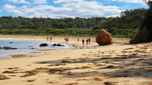 Quiriga Beach, east of Maloneys Beach