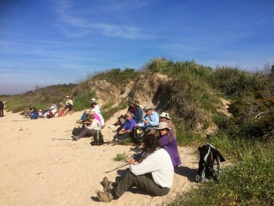 Lunch on North Broulee beach