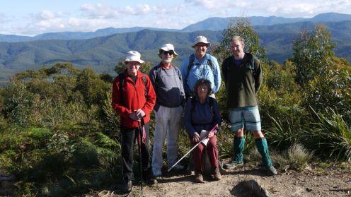 Karl, Roger, Rob, Andy and Pat at Mogood Trig