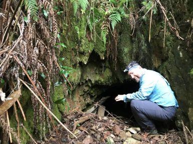 Dave going underground