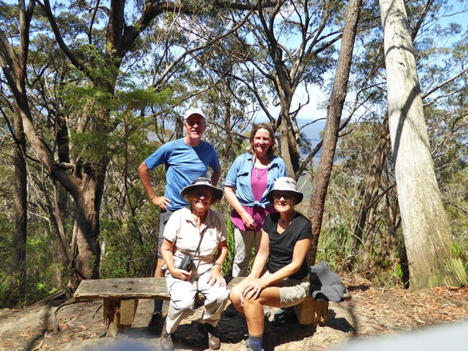 Brian, Wendy, Pat and Chris.