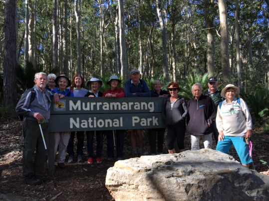 Easy walkers in Murramarang