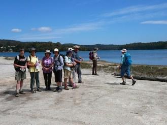 Gathering by Lake Mummaga.