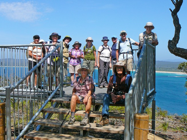 The group at the lookout.