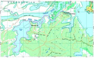 Borang Lake Paddle Route