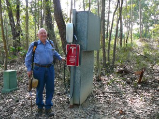 This 'find' was a little out of the ordinary on a bush walk!