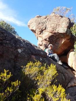 Jennie at Mt Chatauqua
