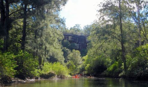 End of Bomaderry Creek