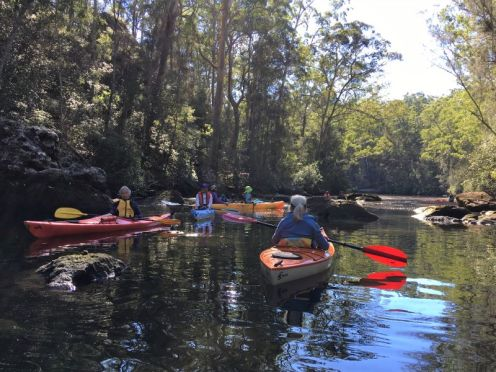 End of Nowra Creek