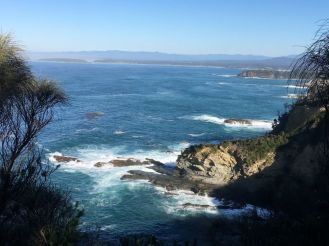 From Burrewarra Point south