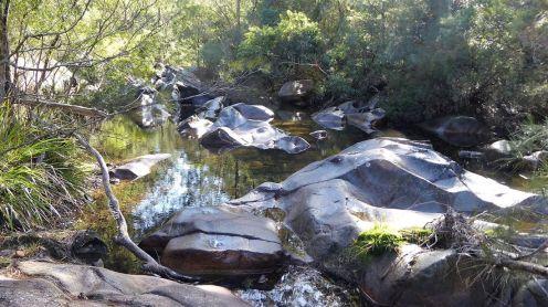 Woila Creek rock formations