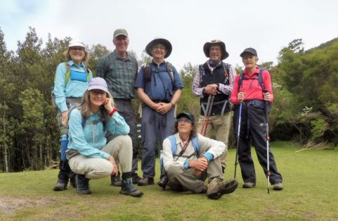Group at Windy Saddle