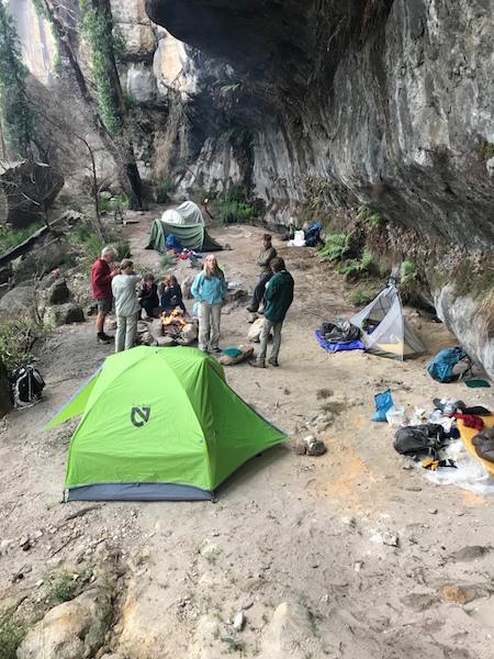 A cosy camp