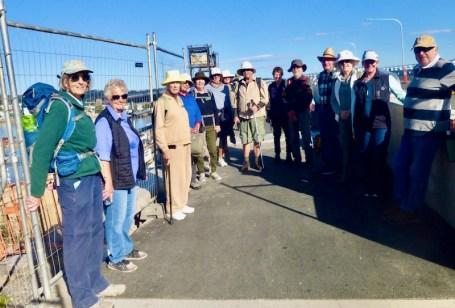 Walk beginning on new Batemans Bay Bridge