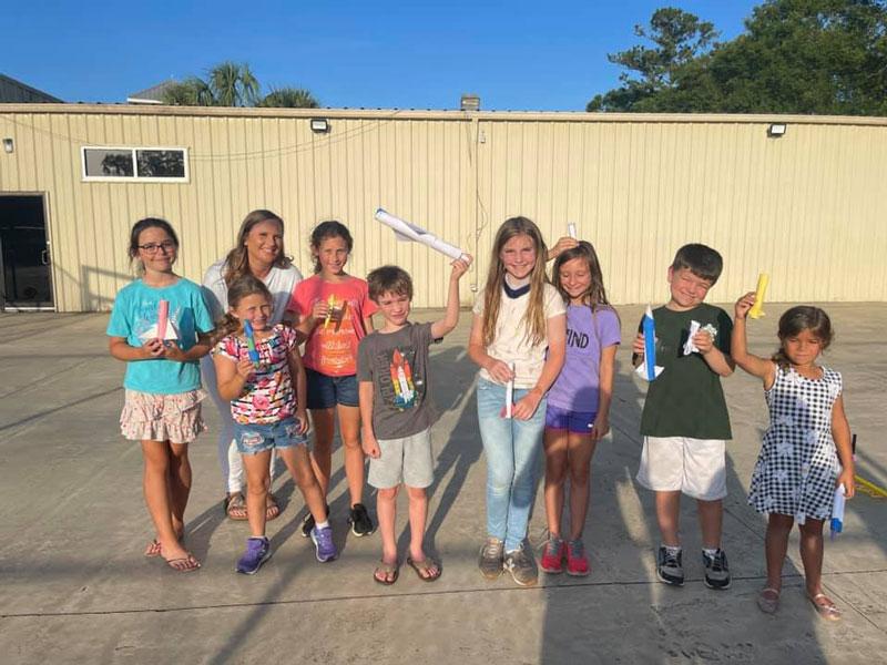 Stem For Kids To Cut Ribbon In Fairhope