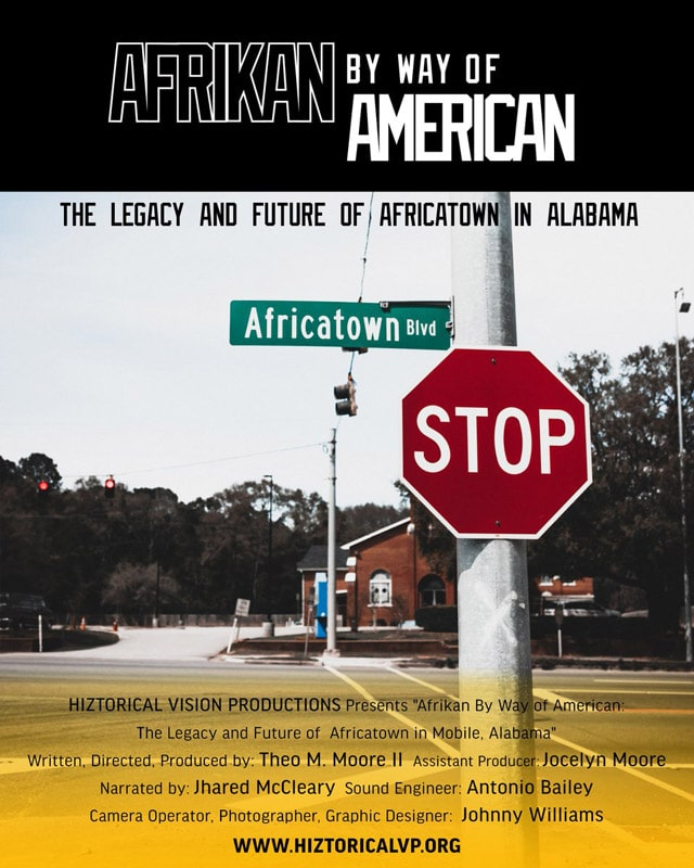 Afrikan by Way of American Poster
