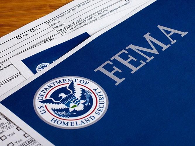 Stimpson Details FEMA Grant Use, Fall Work Program