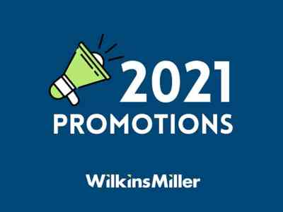 Wilkins Miller Announces Promotions, New Hire