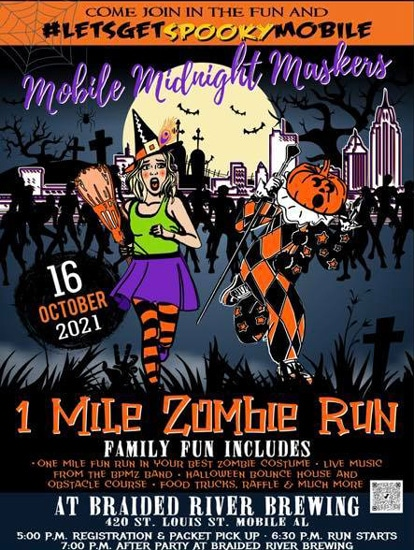 Zombie Fun Run to be Held Concurrently with Beer Festival