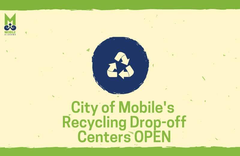 Mobile Reopens Recycling Centers