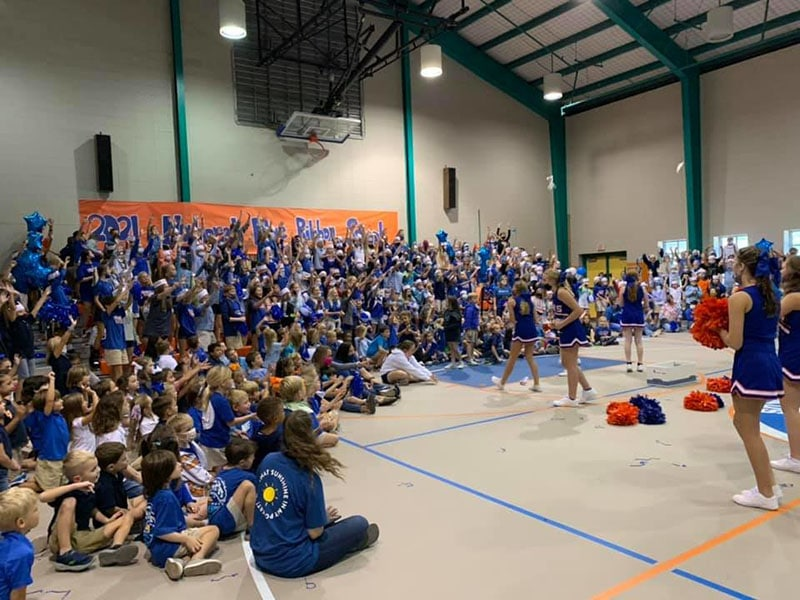 Orange Beach Elementary Named Blue Ribbon School