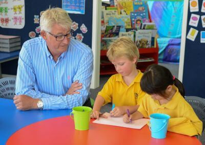 Furnware owner/managing director Hamish Whyte visits 100 classrooms a year ... to learn from his customers
