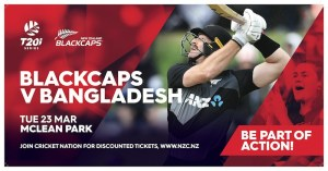 BLACKCAPS v Bangladesh T20 International