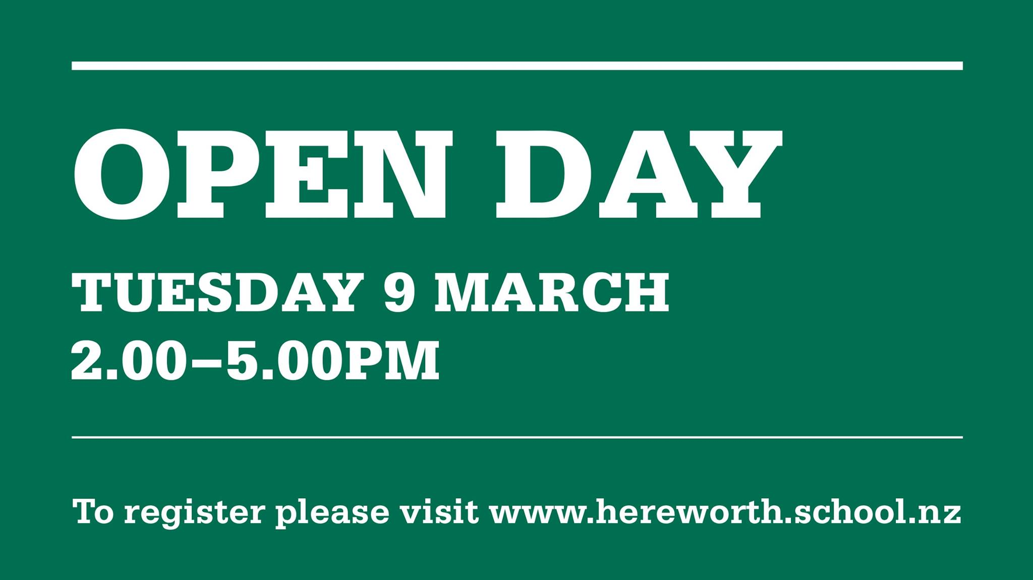 Hereworth Open Day