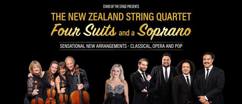 The NZ String Quartet, Four Suits & A Soprano