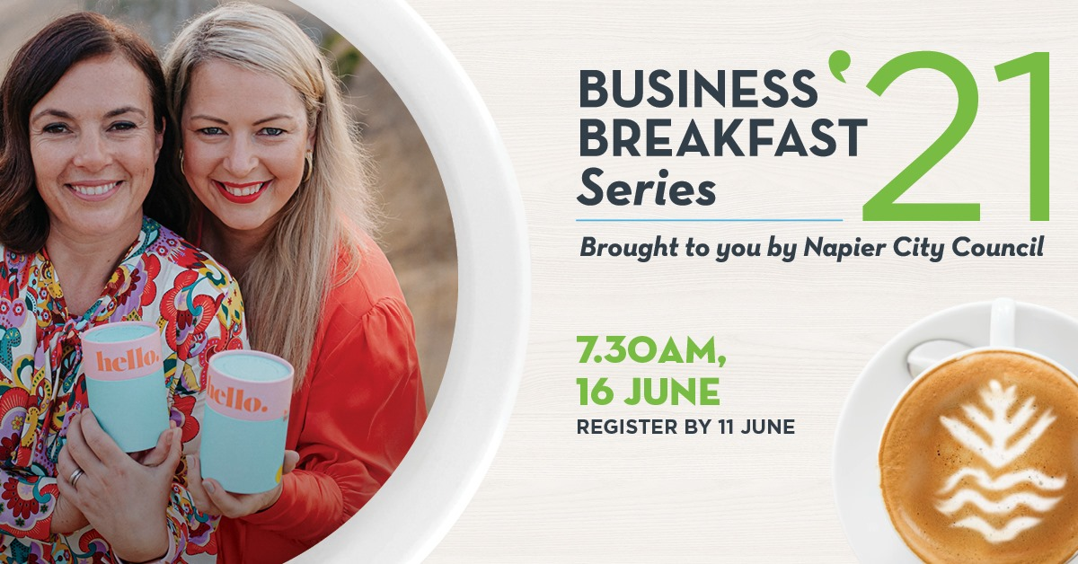 NCC Business Breakfast with The Hello Cup founders Mary Bond and Robyn McLean