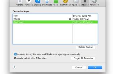 iPhone, İpad yedekleme dosyalarını nasıl buluruz?