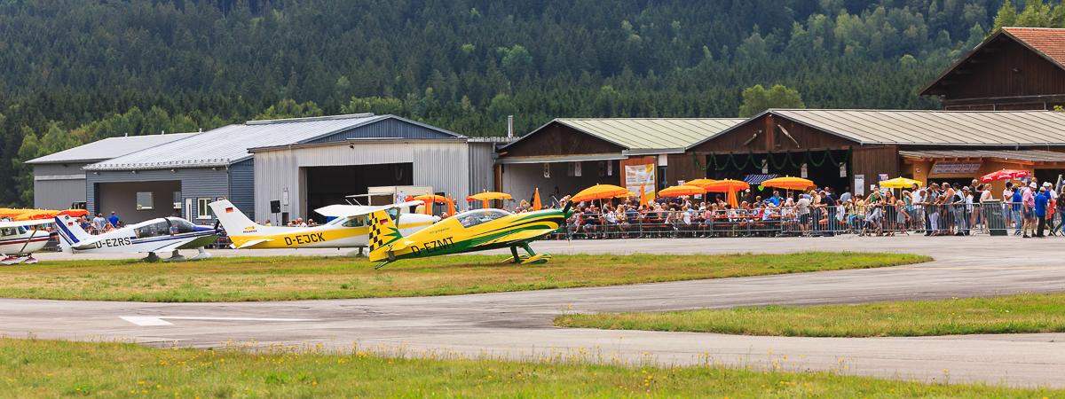 UL-Ausflug mit dem EUROFox in den Bayerischen Wald - CAVOK im Bayerischen Wald