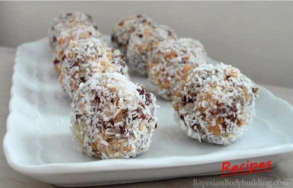 High calorie, healthy snack: Oriental Truffels