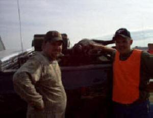 Avon Park Bombing range -- Bert and Eugene's trophy hog