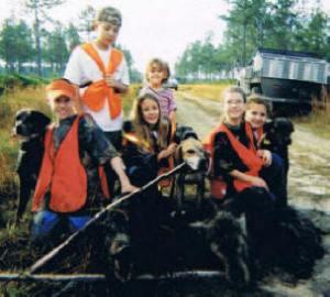 Avon Park Bombing Range -- THE NEXT GENERATION OF HUNTERS!! -- Justin, Tyler, Erin, Mendy, Rebecca and Kasey