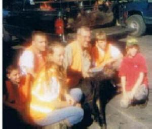 Bombing range -- Molly, Austin, Ryan, Greg, Nathan and Jeffery