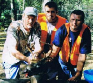 Bombing Range -- Greg, James and John