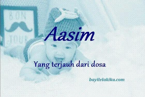 arti nama Aasim