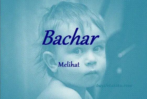 arti nama bachar