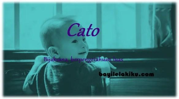 arti nama cato