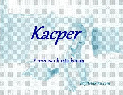 arti nama kacper