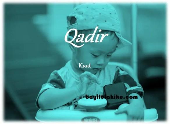 arti nama qadir