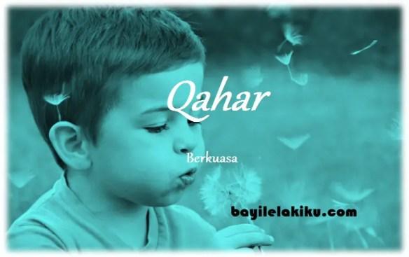 arti nama qahar
