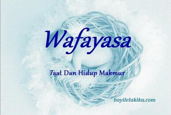 arti nama wafayasa