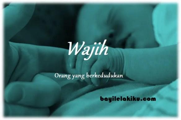 arti nama Wajih